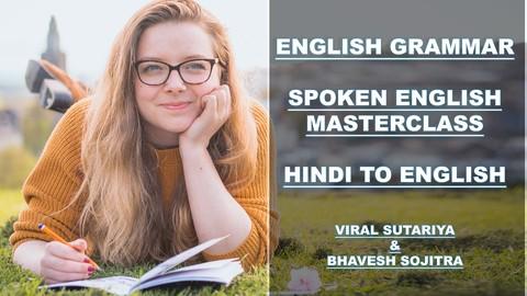 Hindi to English-Spoken English Tenses Grammar MasterClass