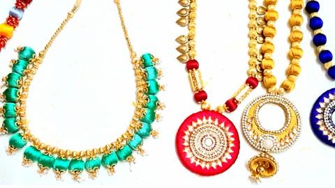 Advanced Silk Thread Jewelry