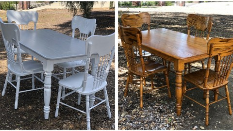 How To Refinish Your Dining Table Set