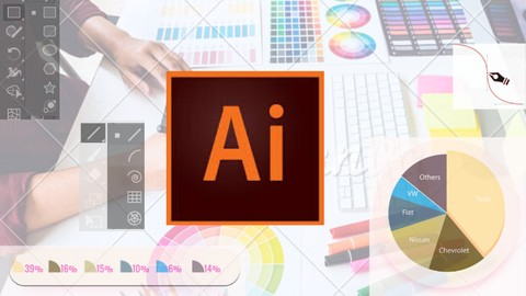 Learn Adobe Illustrator by making a Pie Chart