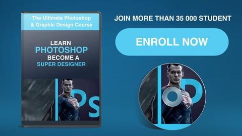 The Ultimate 2D/3D Photoshop & Graphic Design Course ! 2020