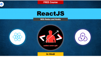 ReactJs with Redux and Hooks [Hindi]